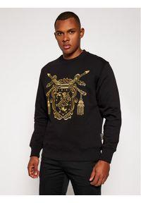 Versace Jeans Couture Bluza B7GZB7TS Czarny Regular Fit. Kolor: czarny