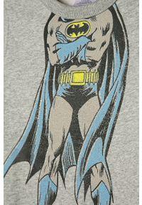 Szara bluza GAP z nadrukiem, bez kaptura, na co dzień