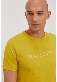 T-shirt Marc O'Polo na co dzień, z nadrukiem, casualowy