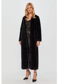 Czarny płaszcz TwinSet na co dzień, casualowy
