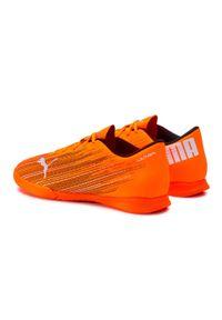 Pomarańczowe półbuty Puma