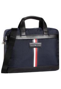 Niebieska torba na laptopa TOMMY HILFIGER