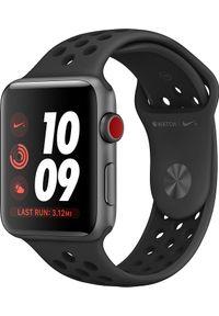 Szary zegarek APPLE smartwatch