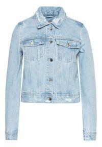 Guess Kurtka jeansowa W1GN26 D3P31 Niebieski Regular Fit. Kolor: niebieski. Materiał: jeans
