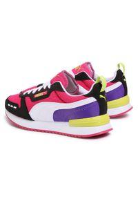 Różowe buty sportowe Puma z cholewką #7