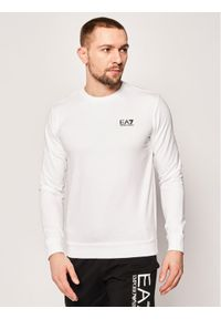EA7 Emporio Armani Bluza 8NPM52 PJ05Z 1100 Biały Regular Fit. Kolor: biały