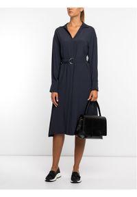 Niebieska sukienka Sportmax Code casualowa, na co dzień, prosta