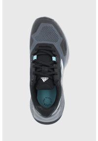 adidas Performance - Buty Terrex Soulstride. Zapięcie: sznurówki. Kolor: czarny. Materiał: materiał