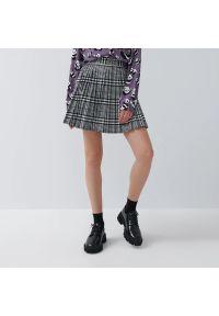 House - Plisowana spódnica mini - Wielobarwny
