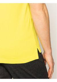 TOMMY HILFIGER - Tommy Hilfiger Polo Tipped MW0MW13080 Żółty Slim Fit. Typ kołnierza: polo. Kolor: żółty
