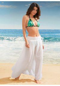 Spódnica plażowa maxi bonprix biały. Okazja: na plażę. Kolor: biały. Długość: długie
