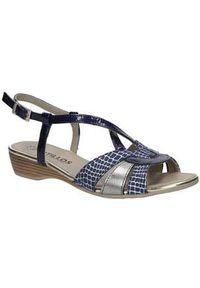 Niebieskie sandały Pitillos na lato #1