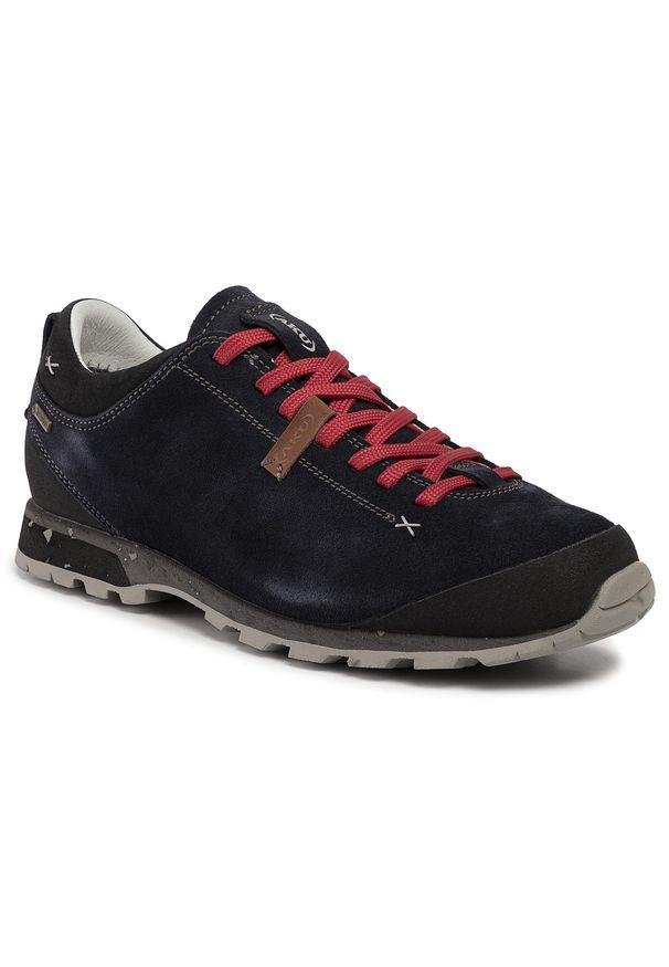 Niebieskie buty trekkingowe Aku trekkingowe, z cholewką