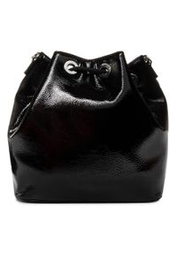 Czarna torebka worek Versace Jeans Couture klasyczna