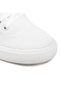 Białe trampki Lauren Ralph Lauren
