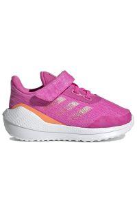 Sneakersy Adidas na rzepy, do biegania, z cholewką