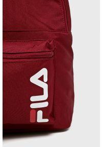Brązowy plecak Fila z nadrukiem