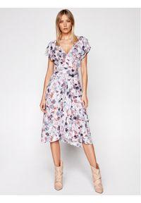 IRO Sukienka letnia Plisca A0145 Kolorowy Regular Fit. Wzór: kolorowy. Sezon: lato