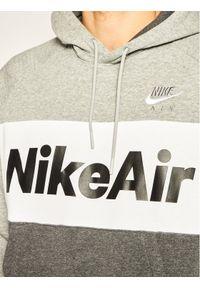 Nike Bluza Nsw Air Hoodie Po CJ4824 Szary Standard Fit. Kolor: szary