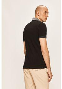 Czarna koszulka polo Jack & Jones casualowa, na co dzień, krótka