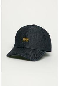Niebieska czapka z daszkiem G-Star RAW