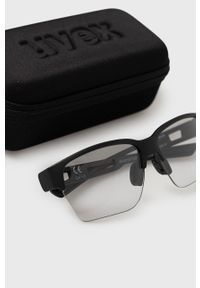 Uvex - Okulary. Kolor: czarny