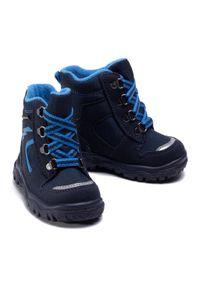 Superfit - Śniegowce SUPERFIT - GORE-TEX 1-000048-8000 M Blau/Blau. Kolor: niebieski. Materiał: materiał
