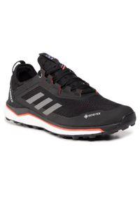Czarne buty do biegania Adidas z cholewką, Gore-Tex, Adidas Terrex