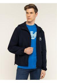 Niebieska kurtka przejściowa Emporio Armani