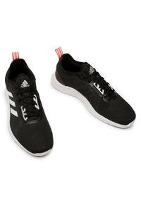Czarne buty treningowe Adidas z cholewką
