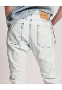 ONETEASPOON - Jeansy z niskim stanem Saints Boyfriend. Stan: obniżony. Kolor: biały