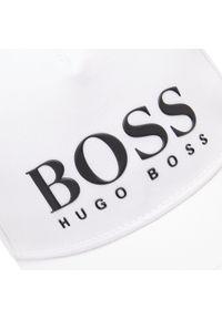 Czapka z daszkiem BOSS - J21M23 White 10B. Kolor: biały. Materiał: bawełna, materiał