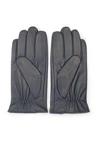 Niebieskie rękawiczki Wittchen eleganckie