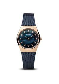 Niebieski zegarek elegancki