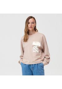 Beżowa bluzka Mohito