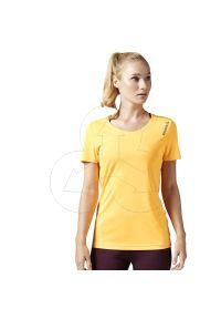 T-shirt Reebok z krótkim rękawem, sportowy, krótki