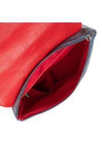 Desigual - Plecak DESIGUAL - 21SAKA18 3000. Kolor: wielokolorowy, czerwony, niebieski. Materiał: skóra, materiał