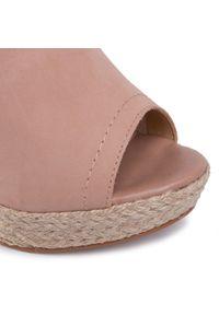 Różowe sandały QUAZI eleganckie