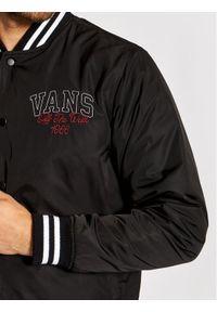 Vans Kurtka bomber 66 Champs Varsity VN0A5FPX Czarny Regular Fit. Kolor: czarny
