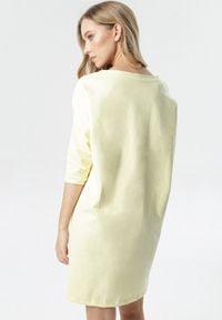 Born2be - Żółta Tunika Aethireanes. Kolor: żółty