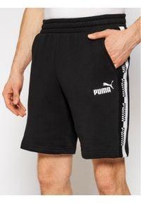 Puma Szorty sportowe Amplified 585786 Czarny Regular Fit. Kolor: czarny