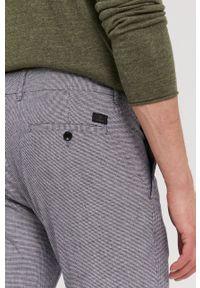 Strellson - Spodnie. Kolor: niebieski. Materiał: tkanina