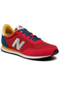 New Balance Sneakersy YC720RD2 Czerwony. Kolor: czerwony