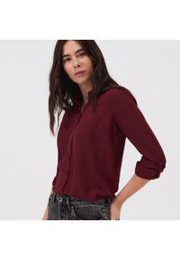 Fioletowa koszula Sinsay