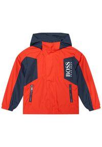 Czerwona kurtka przejściowa BOSS