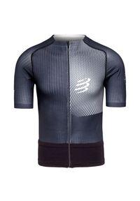 Compressport - Koszulka biegowa COMPRESSPORT TRAIL POSTURAL SS TOP. Materiał: włókno, skóra, materiał, syntetyk. Sport: kolarstwo, fitness, bieganie