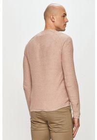 Only & Sons - Sweter. Okazja: na co dzień. Kolor: różowy. Materiał: dzianina. Styl: casual