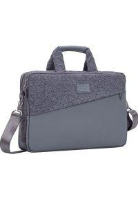 Szara torba na laptopa Riva Case