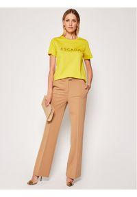 Żółty t-shirt Escada Sport sportowy
