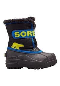 sorel - Sorel Buty Dziecięce Zimowe Snow Commander. Sezon: zima